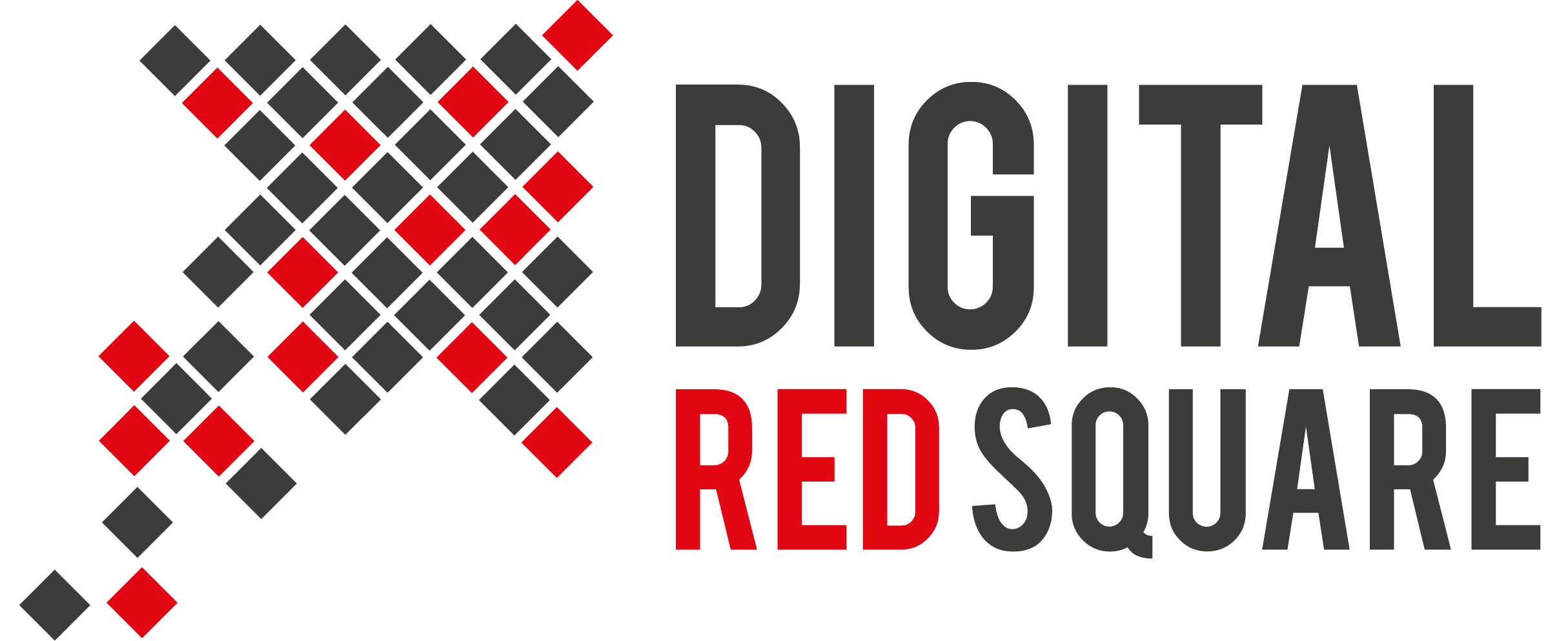 Digital Red Square Logo